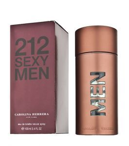 "Туалетная вода, Carolina Herrera ""212 Sexy Men"", 100 ml"